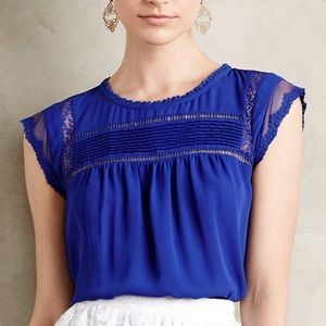 Anthropologie Nellore Blouse by Meadow Rue in M